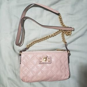 Marc Jacob's neutral pink crossbody